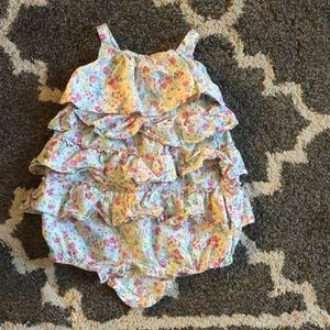 Girls 12 month Ralph Lauren Romper